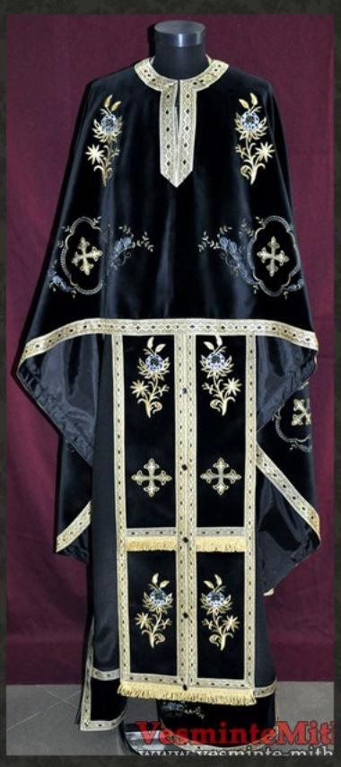 Vesmant Preotesc Brodat catifea Cat 1250 M62