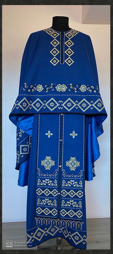 Vesmant Preotesc Tradiţional Brodat Cat 2500 M150