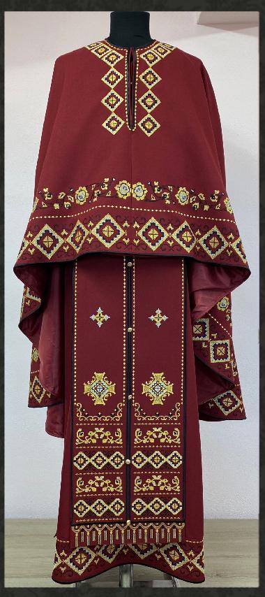 Vesmant Preotesc Tradiţional Brodat Cat 2500 M153