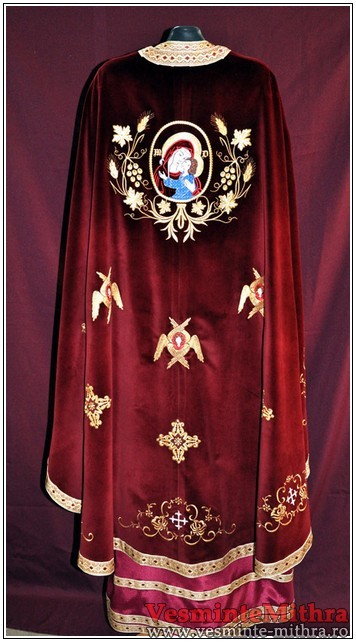 Vesmant Preotesc Brodat Catifea Cat 1500 M34
