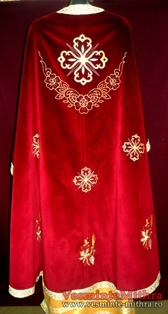 Vesmant Preotesc Brodat Catifea Cat1000 M36