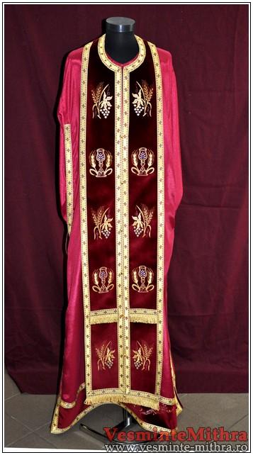 Vesmant Preotesc Brodat Catifea Cat1400 M63